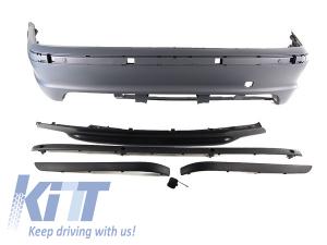 KITT brings you the new Rear Bumper BMW 3 Series E46 4D Sedan (1998-2004) M-Technik Design