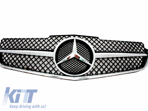 KITT brings you the new Front Grille Mercedes Benz E-Class C207 Coupe W207 A207 Cabrio 2009-2012 SL-Look