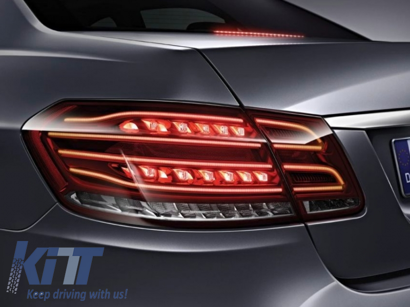 Kitt Brings You The New Led Taillights Mercedes Benz E