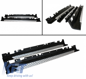 KITT brings you the new Running boards BMW E71 X6 Side steps