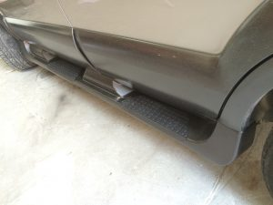 Running Boards Side Steps Hyundai Tucson (2004-2010)