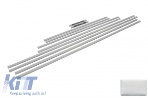 KITT brings you the new Add On Door Moldings Strips Mercedes G-class W463 (1989-up) AMG Brushed Aluminum