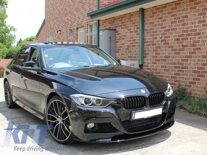 kitt brings you the new front bumper bmw 3er f30 f31 sedan. Black Bedroom Furniture Sets. Home Design Ideas