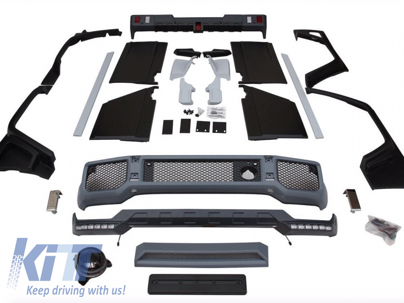 KITT brings you the new Complete Conversion Body Kit