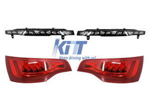KITT brings you the new Audi Q7 4L (2009-2015) Facelift LED Turning Lights + Full LED Taillights OEM Design