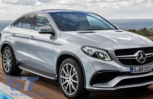 KITT brings you the new Running Boards Side Steps Mercedes Benz GLE Coupe 2015+