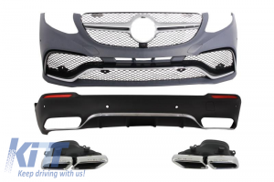 KITT brings you the new Complete Body Kit Mercedes Benz GLC X253 SUV 2015+ AMG Design