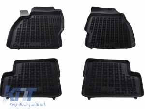 KITT brings you the new Floor mat Rubber Black OPEL Corsa D 2006-2014
