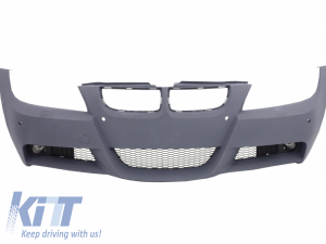 KITT brings you the new Front Bumper BMW 3 Series E90 E91 Sedan Touring (2004-2008) With PDC Holes