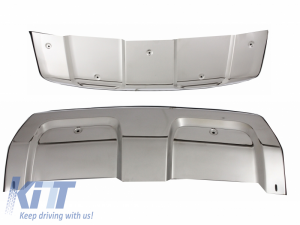KITT brings you the new Skid Plates Sills Bumper Protection Guards Range Rover Sport (L494) (2014-up)