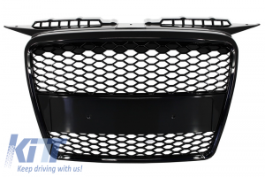 KITT brings you the new Badgeless Front Grille Audi A3 8P (2004-2007) RS Design Piano Black