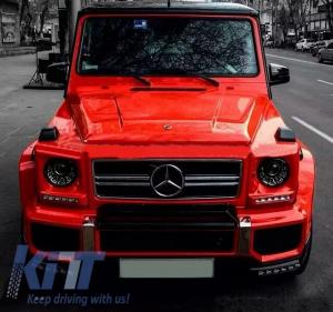 KITT brings you the new Mercedes W463 G-Class 2006-2015 Bi-Xenon LED Headlights M Square-Look