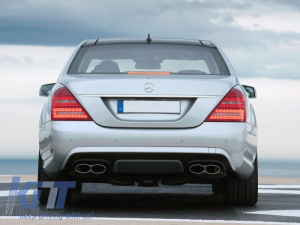 KITT brings you the new Rear Bumper Diffuser Mercedes Benz W221 S-Class (2005-2013) Facelift S63 S65 AMG Design