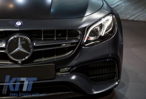 KITT brings you the new Complete Body Kit Mercedes-Benz E-Class W213 (2013-up) AMG E63 Design Black Edition