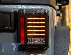 KITT brings you the new LED Taillights Jeep Wrangler / Rubicon JK (2007-2017)