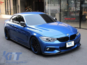 KITT brings you the new Side Skirts Add-on Lip Extensions BMW 4 Series F32 F33 F36 Coupe Cabrio Grand Coupe M-Performance