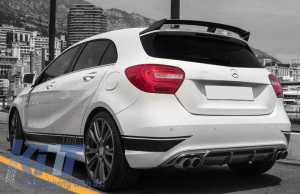 KITT brings you the new Trunk Spoiler Boot Lid Spoiler Mercedes Benz W176 A-Class (2012-up) B Style