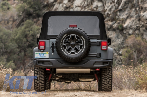 KITT brings you the new Rear Bumper Jeep Wrangler / Rubicon JK (2007-2017) 10th Anniversary Hard Rock Style