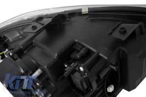 KITT brings you the new Headlights 3D Angel Eyes BMW E90/E91 (2005-2008) U-Type Chrome HID