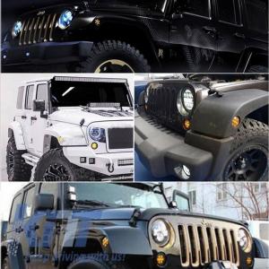 KITT brings you the new Fenders Side Turning Lights Jeep Wrangler JK (2007-2016) Amber Light