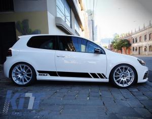 KITT brings you the new Side Decals Sticker Vinyl Black VW Volkswagen Golf V 5 (2003-2007)