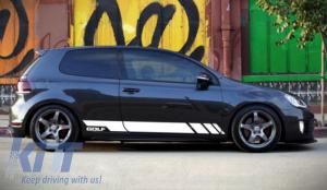 KITT brings you the new Side Decals Sticker Vinyl White VW Volkswagen Golf V 5 (2003-2007)