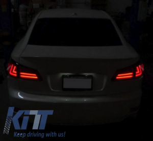 KITT brings you the new Taillights LED LEXUS IS XE20 (2006-2012) Light Bar Facelift New XE30 Smoke
