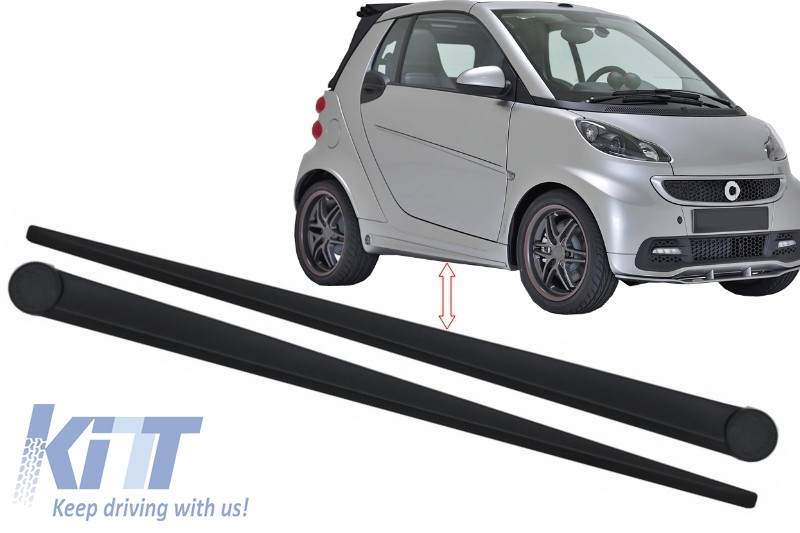 It Now Side Skirts Smart Fortwo 451 2007 2017 B Design