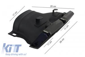 KITT brings you the new Exhaust Muffler Tips Mercedes Benz C-Class W205 S205 C200 C180 GLE C292 GLE W166 GLC W253 X253 C253 (2014-up) AMG Design Black Edition