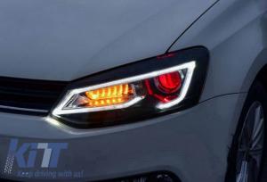 KITT brings you the new Headlights LED XENON HID VW Volkswagen POLO 6R/6C/61 (2011-2017) Devil Eye Look