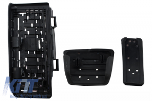 KITT brings you the new KIT OF PEDAL FOOTREST Volkswagen VW Golf 7, Passat B8, Tiguan 2016, Touran 2016, Audi A1 8x, A3 8V, TT 8s, Q2, Seat Leon 3 5 F Automati Gear Boxc