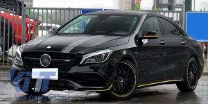 KITT brings you the new Set Sticker Vinyl Dark Grey Upper Bonnet Roof & Tailgate Mercedes Benz CLA W117 C117 X117 (2013-2016) A Class W176 (2012-up) 45 AMG Design Edition 1