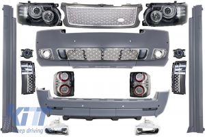 KITT brings you the new Complete Conversion Autobiography Design Body Kit Range Rover Vogue (L322) (2002-2009) Retrofit to Facelift 2010+