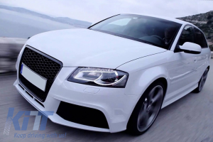 KITT brings you the new Front Bumper Audi A3 8P Facelift (2009-2012) RS3 Design