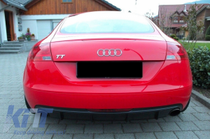 KITT brings you the new Rear Valance Air Diffuser Audi TT 8J Coupe (2006-2010) R32 design