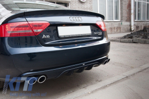 KITT brings you the new Rear Valance Air Diffuser Audi A5 Sportback (2007-2011) DTM