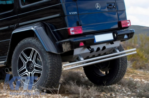KITT brings you the new Skid Plates Under Run Protection Guard Mercedes G-class W463 1989+ 4X4 Design