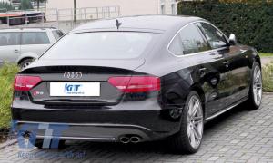 KITT brings you the new Rear Bumper Valance Diffuser Audi A5 8T 4D Sportback S-Line Non Facelift (2007-2011)