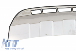 KITT brings you the new Skid Plates Bumper Protections Off Road VW Touareg 7P5 (2010-2014) Stainless steel