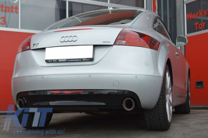 KITT brings you the new Complete Sport Muffler Exhaust System Audi TT 8J (2006-2014)