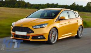 KITT brings you the new Headlights LED DRL  Ford Focus III (2015-2017) Bi-Xenon Design Dynamic Flowing Turn Signals Demon Look