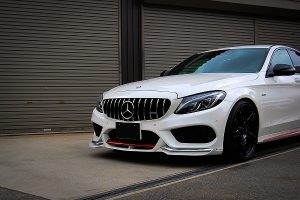 KITT brings you the new Front Grille Mercedes W205 S205 C-Class (2014-up) AMG GT-R Panamericana Design Without Camera