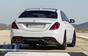 KITT brings you the new Body Kit Mercedes Benz W222 S-Class Facelift (2013-Up) S63 AMG Design