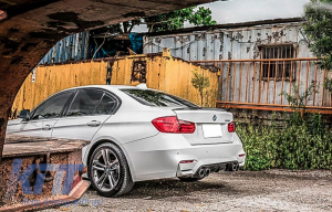 KITT brings you the new Trunk Spoiler BMW F30 3 Series (2010-up) M3 Design Carbon Film
