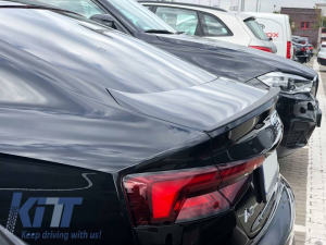 KITT brings you the new Trunk Spoiler Audi A5 F5 8W8 5D Sportback (2017-Up) S5 Design