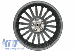 KITT brings you the new Alloy Wheels KESKIN KT15 SPEED 8xR18 ET45 5×112 CB66.6 Palladium Front Polish