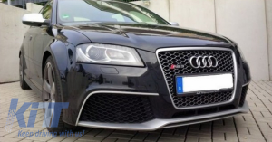 KITT brings you the new Front Bumper Audi A3 8P Facelift (2009-2012) RS3 Design With Fog Ligts