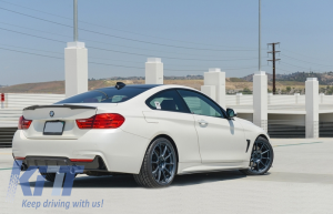 KITT brings you the new Trunk Spoiler BMW 4 Series Coupe F32 (2013-up) M4 CSL Design