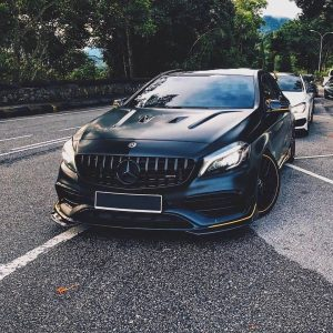 KITT brings you the new Central Grille Mercedes Benz A-Class W176 Facelift (2015-2018) A45 GT-R Panamericana Design Black