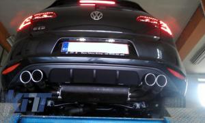 KITT brings you the new Rear Bumper Diffuser Volkswagen Golf 7 VII (2013-2016) ABT Look